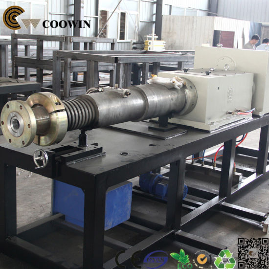 Double - Screw PVC Wood Plastic Board Production Line for Outdoor Decking/Cladding pictures & photos
