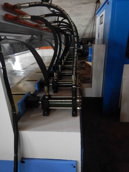 Finger Jointed Panel Making Machine with High Frequency Generator pictures & photos
