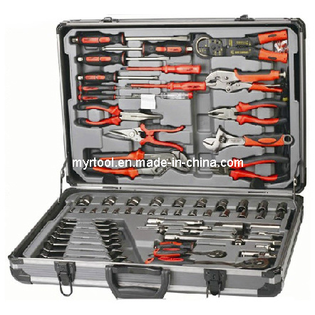 118PCS Combination Tool Set with Aluminium Case (FY118A) pictures & photos