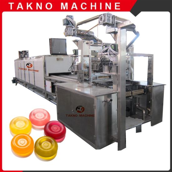 150kg Small Scale Hard Candy Making Machine for Factory