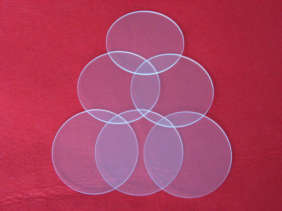 High Purity Clear Fused Silica Glass Plate Quartz Sheet