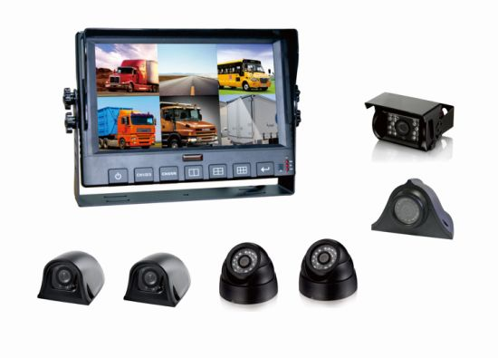 9 Inch 6CH High Definition DVR with Touch Screen