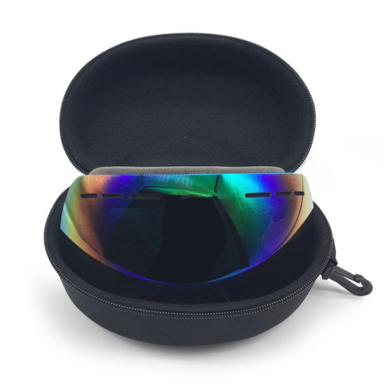 Skiing Goggles Case, Eyeglasses Sunglasses Hard Case Protector Box Holder Skiing Glasses Box