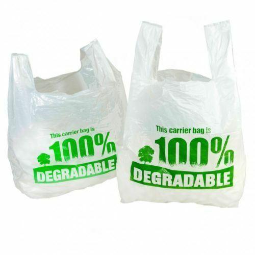 China Corn Starch Cassava Starch Plastic Bag Biodegradable Decomposable Compostable T-Shirt Bags Vest Bag Supermarket Shopping Bags Making Machine - China Biodegradable T-Shift Bag Making Machine, PLA Bag Making Machine