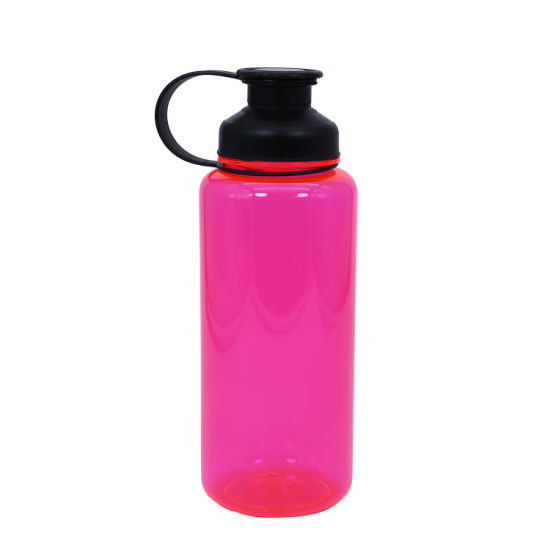 1000ml Large Capacity Sports Bottle with Leak-Proof Clamshell Top Cover - Eco-Friendly and BPA Free Tritan Plastic - Must Have Gym, Yoga, Running, Outdoor