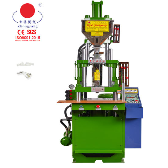 High Precision Artificial Flowers Vertical Injection Molding Making Machine