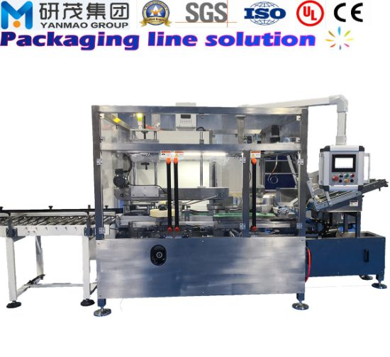 Automatic Horizontal Case/Carton/Box Packer Machine with Unpacking and Sealing Food and Medicine Packing and Packaging