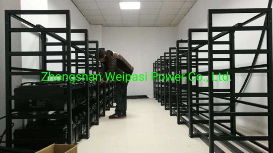China Battery Assembling Racks stainless Steel Frame Battery