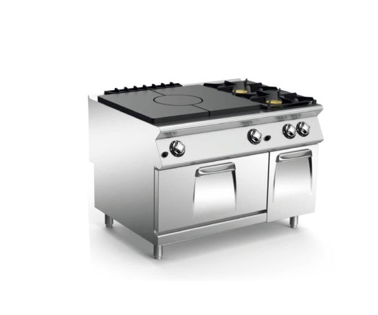 Gas Solid Top with Oven Gas Hot Plate Oven