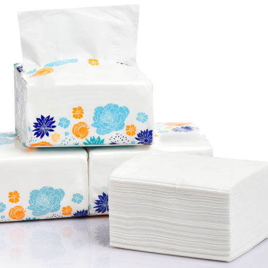 Ultra Soft Good Absorbency Soft Pack Facial Tissue pictures & photos