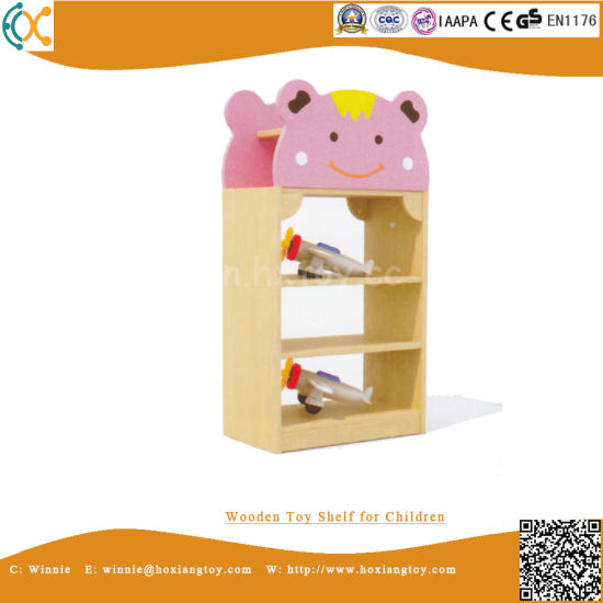 Wooden Toy Shelf for Children