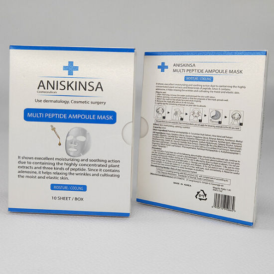 Surgical Uv Commodity Printing Customized Mask Carton Box Packaging