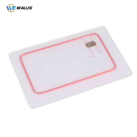 Hot Sale Blank and White PVC Card for Plastic Card Printer