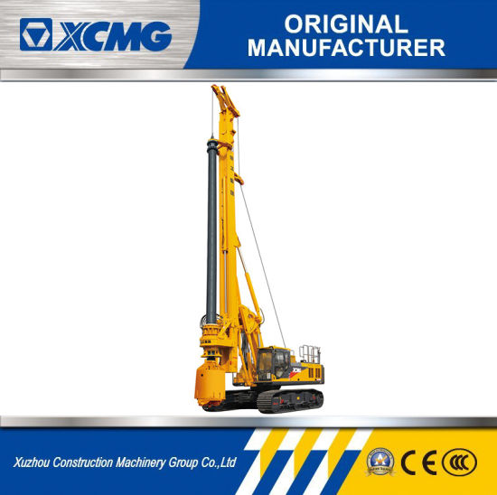 Piling Machine XCMG Professional Xr220d Crawler Rotary Drilling Rig