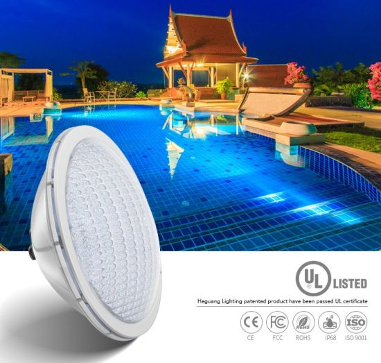 Heguang PAR56 18*3W RGB IP68 316L Stainless Steel Underwater LED Light Swimming Pool LED Light