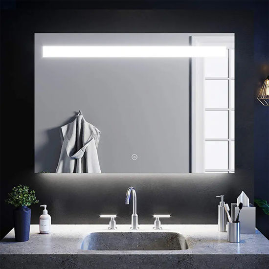 China LED Bathroom Vanity Wall Mirror with Lights Manufacturer