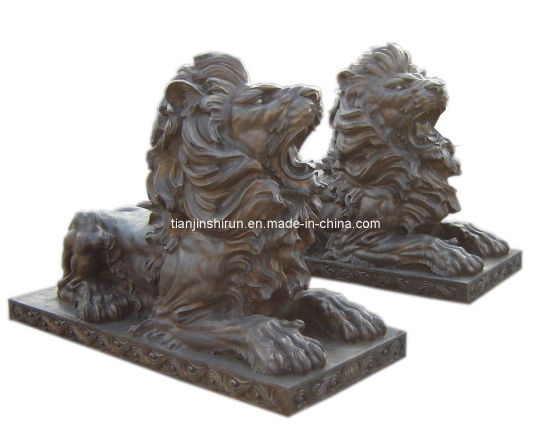 Bronze Lion Sculpture, Bronze Casting Lion (SL639) pictures & photos