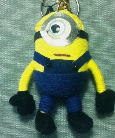 Minions Doll with Key Ring String Doll Voodoo Dolls pictures & photos