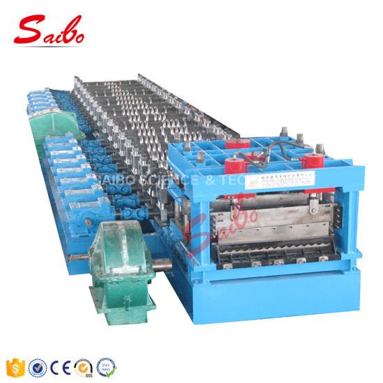 Thick Steel Storage Grain Silo Corrugated Panel Roll Forming Machine