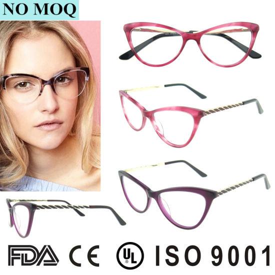 6aa29e002c1e Wholesale Newest Mode Women Prescription Cat Eye Optical Glasses pictures &  photos