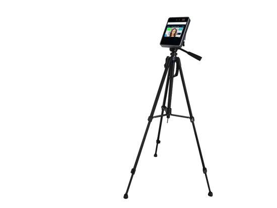 Fsan 5 Inch Wrist Temperature Detector Auto Scanner Face Recognition Thermometer Camera