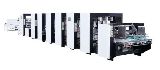 Corrugated Four Six Corner Gluing Folding Machine (GK-1200PCS)