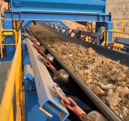 Hight Quality Customized Material Handling Quarry Belt Conveyor System Logistics Transportation Equipment