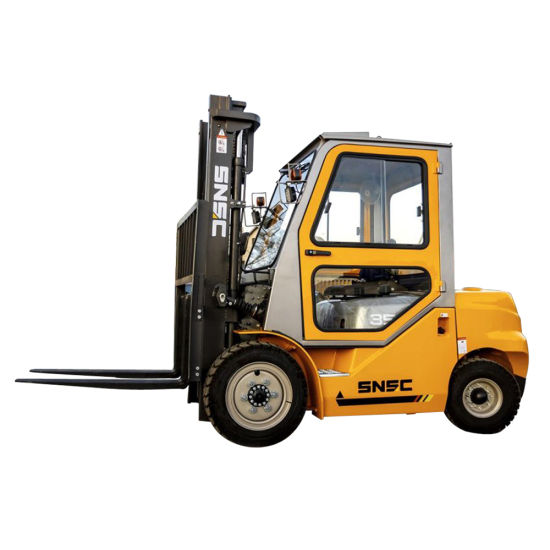 Diesel 3.5tonne Charoit Elevateur Forklift with Cabin