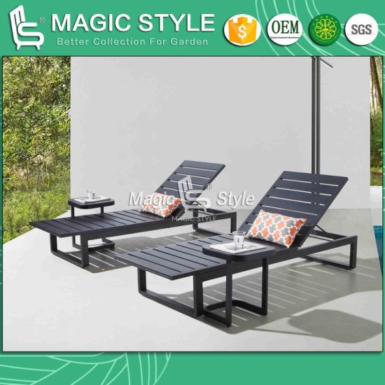 China Outdoor Aluminum Coffee Table Patio Coffee Table Garden Side Table Coffee Side Table Hotel Rattan Furniture China Garden Furniture Outdoor Furniture