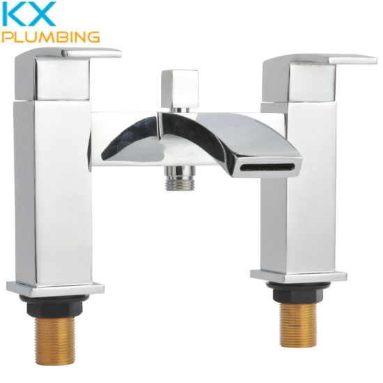 Two Handle Bath Mixers Bathroom Faucets Kx-F1002