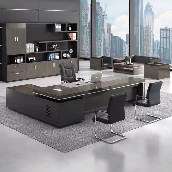 China Luxury Foshan Custom Ceo Table, Office Furniture Modern