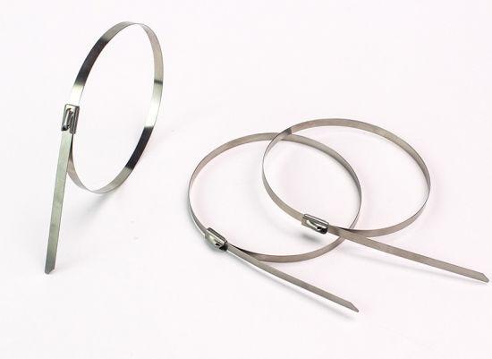 General Purpose Self Locking Stainless Steel Cable Zip Tie