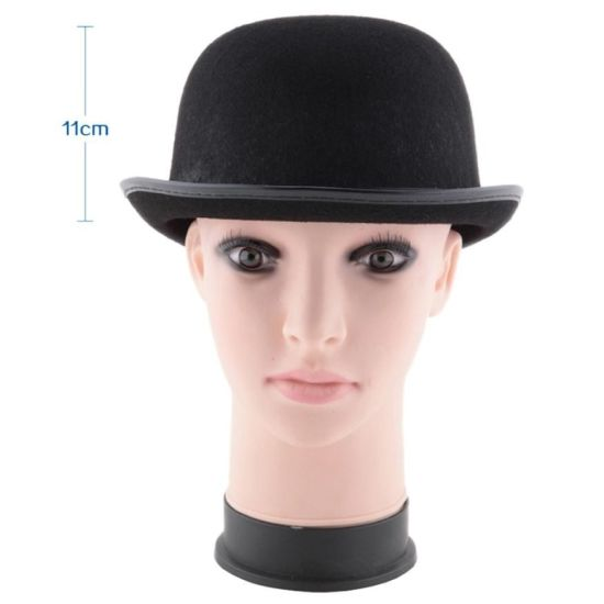 Newest Black Hat Halloween Magician Magic Hat Jazz Hat Halloween Costume Accessory Hot Costume Party Props Drop Shipping pictures & photos