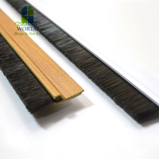 Door Bottom Seal Rubber Draught Excluder Strip Sweep Brush
