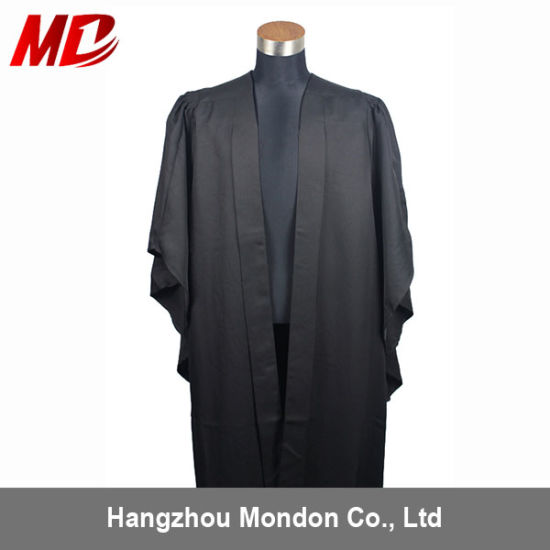 China UK Tradition Oxford and Cambridge Styles Graduation Gowns ...
