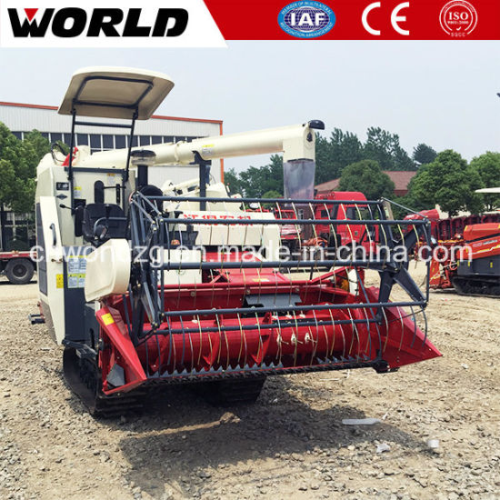 Paddy Rice Harvest Machine with Hst Gearbox pictures & photos