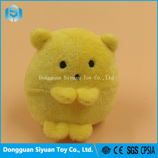 China Cute Mini Yellow Chicken Stuffed Plush Soft Toy For Baby