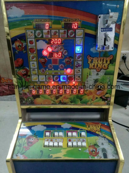 Africa Popular Casino Coin Operated Fruit Bonus Slot Game Machine