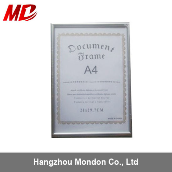 China Silver PVC Certificate Frames Wholesale - China Certificate ...