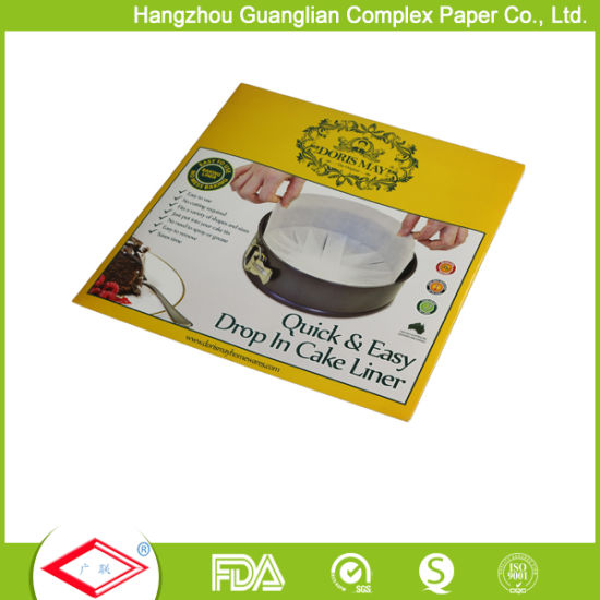 Non Stick Round Greaseproof Parchment Paper Cake Tin Liners