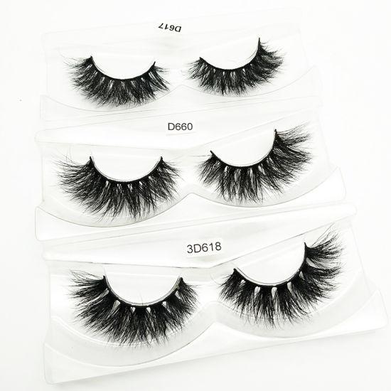 OEM Manufacturer False Eye Lashes Private Label Mink Eyelashes Vendor