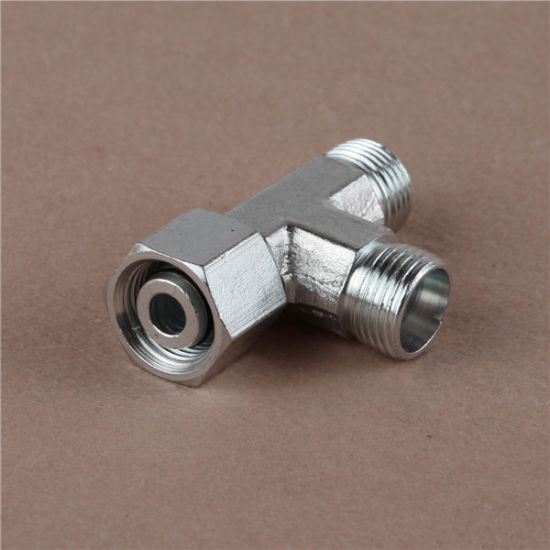 China Metric Thread Bite Type Tube Fittings Hydraulic Fitting