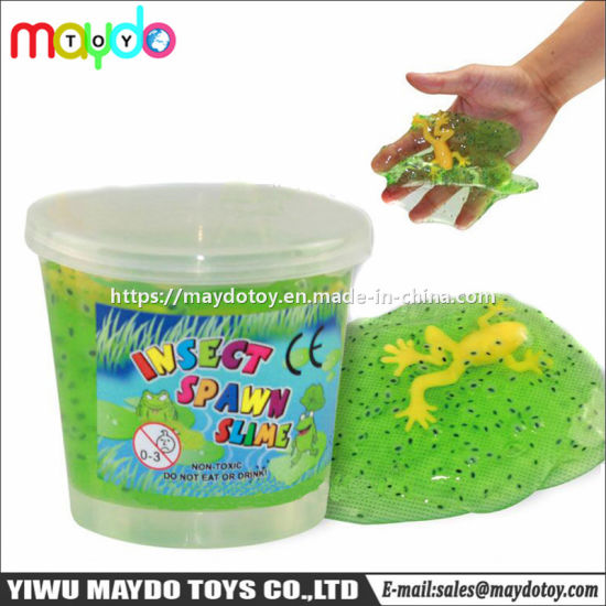 FROG SPAWN GREEN SLIME GOO A FAKE FROG /& EGGS