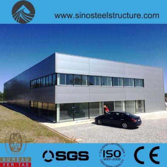 Prefabricated Steel Construction Warehouse (TRD-001)