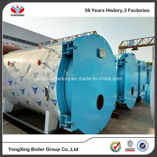 China Latest Horizontal 2 Ton Oil/Gas Fired Steam Boiler, Smoke Tube ...