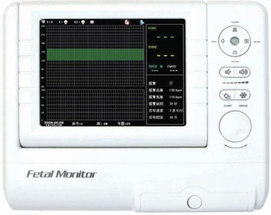 Best Price Medical Equipment Portable Fetal Monitor pictures & photos