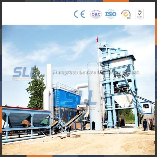 Mobile Hot Asphalt Drum Mixing Plant 20t/H pictures & photos