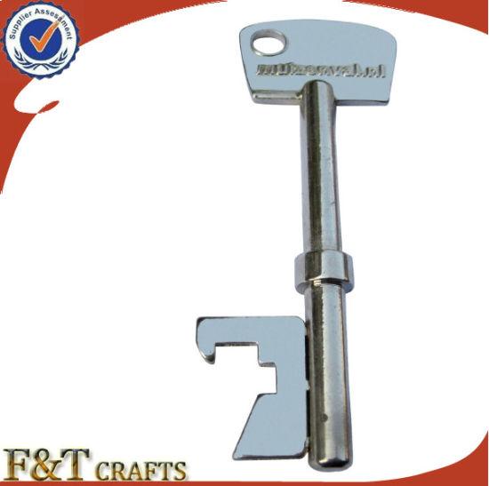 Cheap Blank Custom Key Shape Beer Bottle Openers (FTBO7171J)