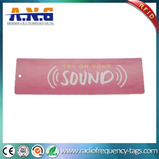 Customized UHF Clothing RFID Tag / Stock Management Reusable RFID Tags