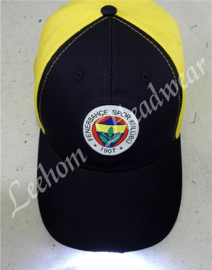 Promotional Baseball ESD Caps with LED Lights pictures & photos